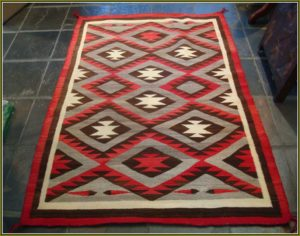 antique native american rug
